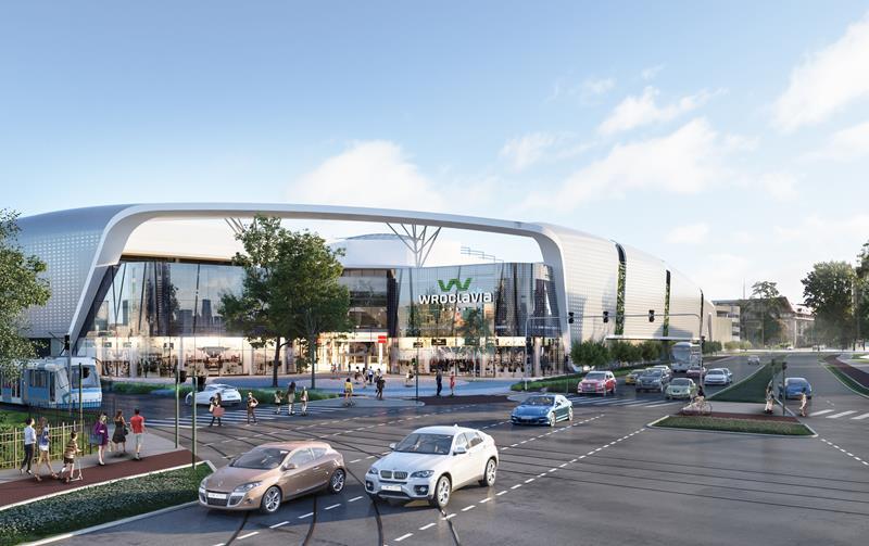 cmT participates in the execution of Wroclavia - the most modern shopping centre in Lower Silesia