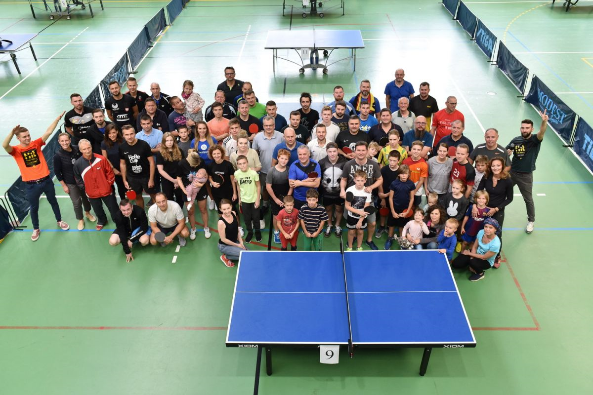 The 4th table tennis tournament completed with success!